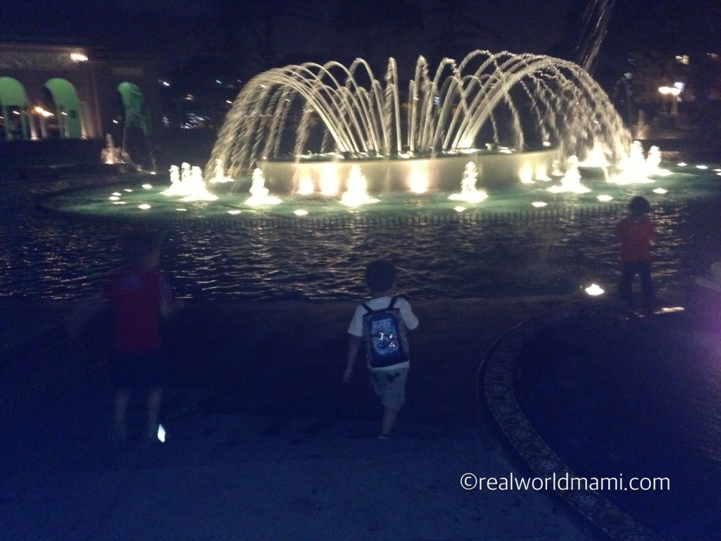 Visit Lima with kids: Magic water circuit