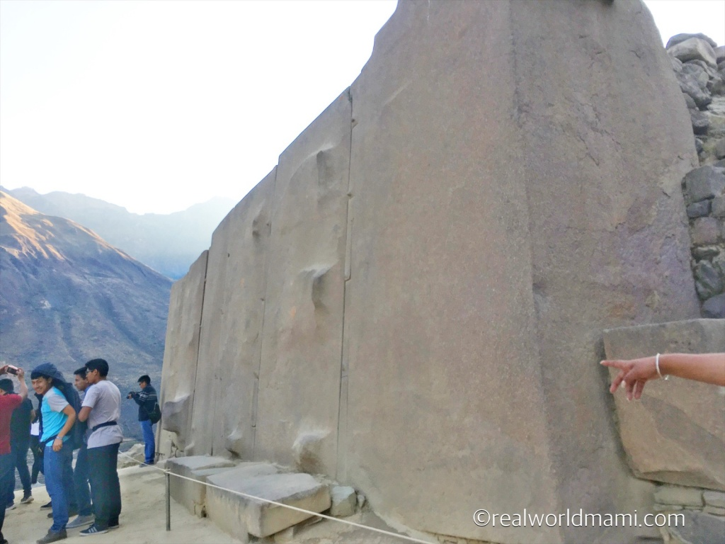 Ollantaytambo with kids