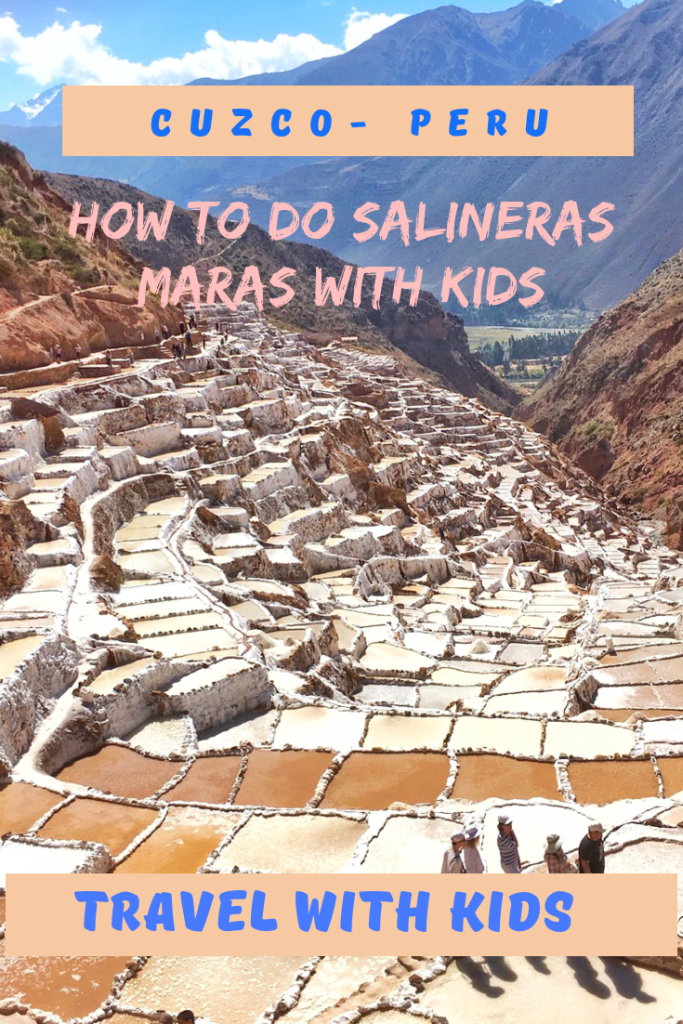 Maras Salt Pond in Cusco Peru