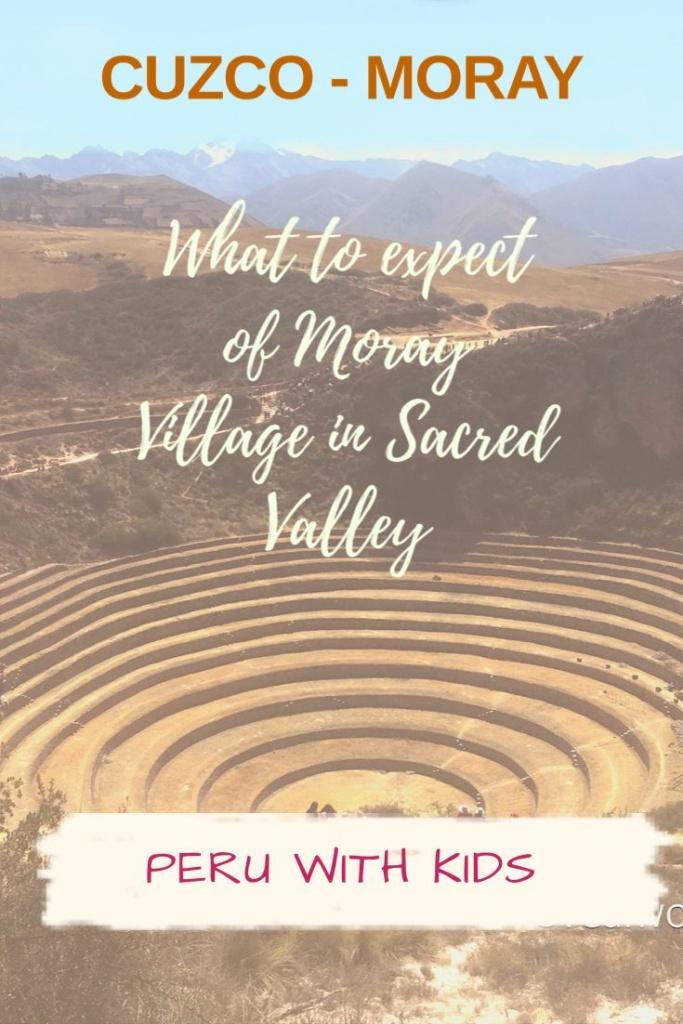 Moray -Sacred Valley - Cusco - Peru