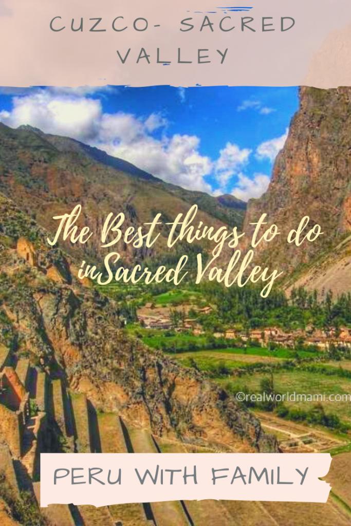 Sacred Valley - Ollantaytambo