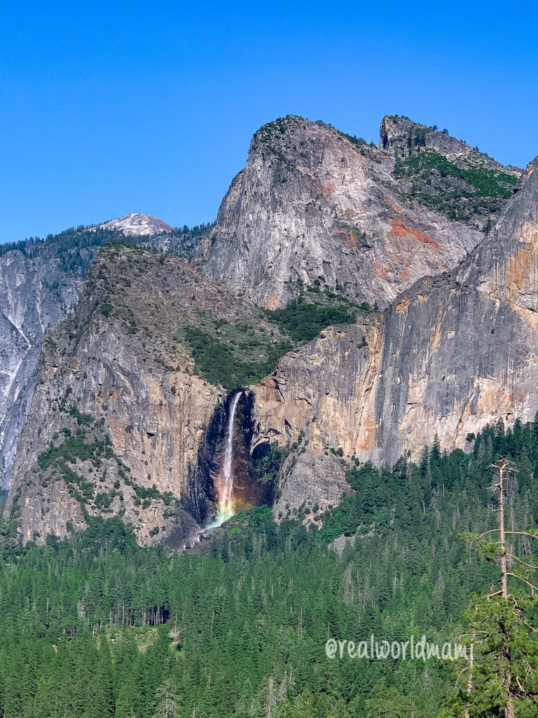 Waterfall View by Tunnel View - Yosemite