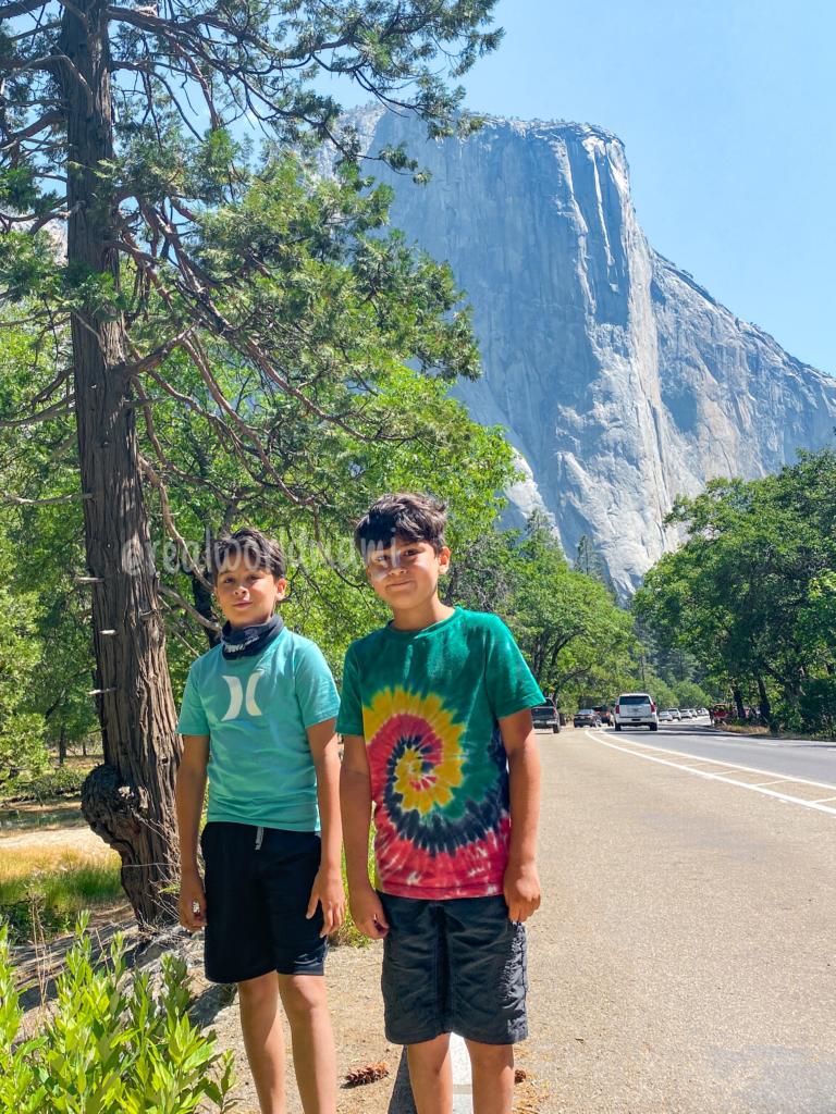 A family 3 days itinerary via to Yosemite