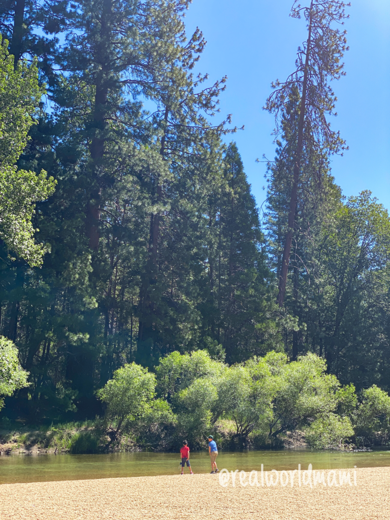 Sentinel Beach in Yosemite